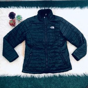 North Face Mossbud Swirl Reversible Jacket